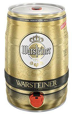 Warsteiner Pils 5 Liter Warsteiner Pils Fass ab 7,49€ (statt 13€)