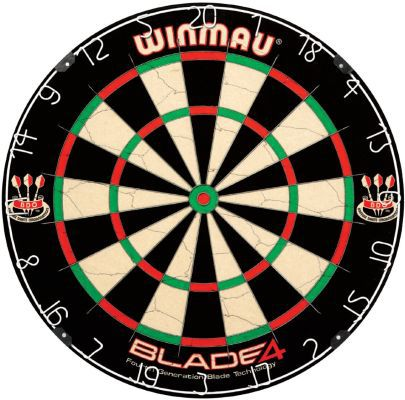 Winmau Steeldartboard Blade IV für nur 33,67€ (statt 47€)