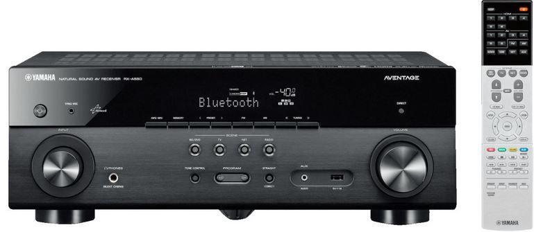 YAMAHA RX A550 AV Receiver Yamaha RX A550   5.1 AV Netzwerk Receiver für 355€