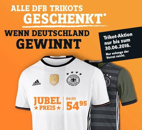 adidas DFB EM 2016 Trikots effektiv geschenkt   wenn Deutschland die EM gewinnt!