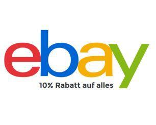 eBay 10% Gutschein auf Alles   dank Anmeldung zum Newsletter!