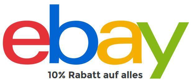 eBay 10% Gutschein auf Alles   dank Anmeldung zum Newsletter! Top