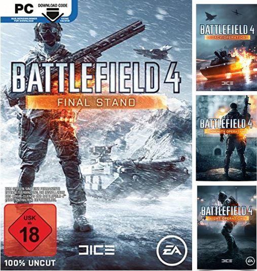 kostenlos Battlefield Battlefield 4 Final Stand und andere PC DLC heute kostenlos bei Origin