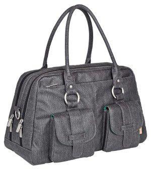 laessig wickeltasche in grau b 45 x h 25 x t 23 cm e1489930118114 Lässig Metro Bag Vintage Wickeltasche für 54,95€ (statt 99€)
