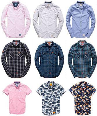 shirts Deal1 Superdry Herren T Shirts   verschiedene Modelle verfügbar für je 19,95€