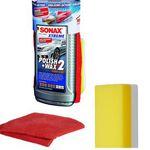 Sonax XTREME Polish & Wax 2 + Schwamm + Mikrofasertuch für nur 11,99€ (statt 16€)