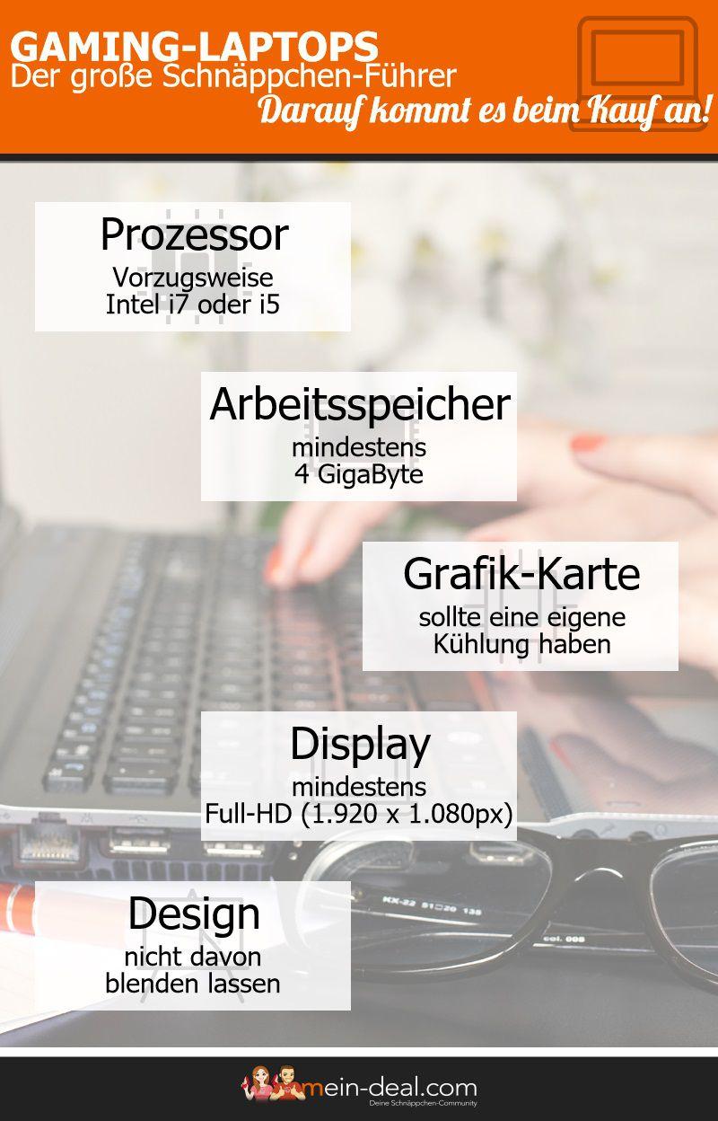Gaming Laptops kaufen – Der große Schnäppchen Führer