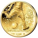 100 Euro Goldmünze Fussball EM UEFA Frankreich für 119€