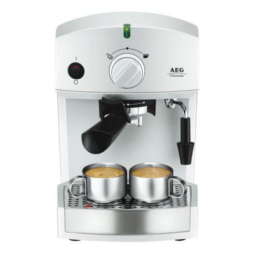 12 AEG AE 130   Crema Espresso Siebträger und Pad Kaffeemaschine für nur 69€