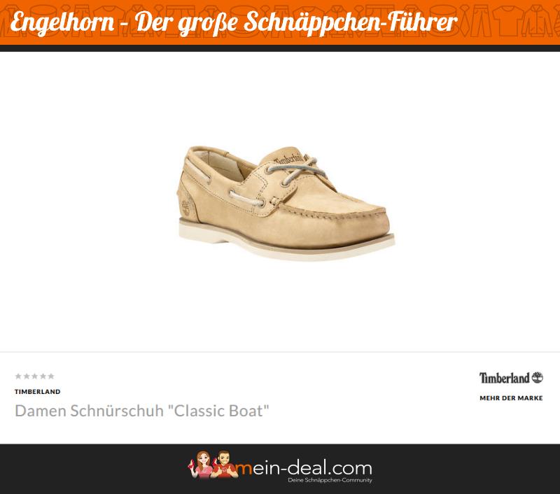 Der klassische Timberland-Schuh