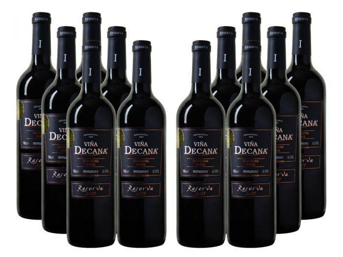 6 Flaschen Bodegas Viña Decana Utiel Requeña DO Reserva für 28,89€