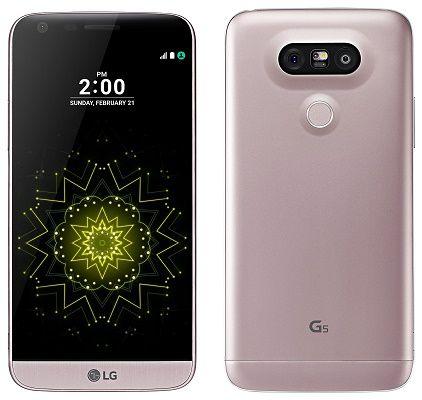 LG G5 in Pink   5,3 Zoll Android Smartphone 32GB für 349€ (statt 470€)