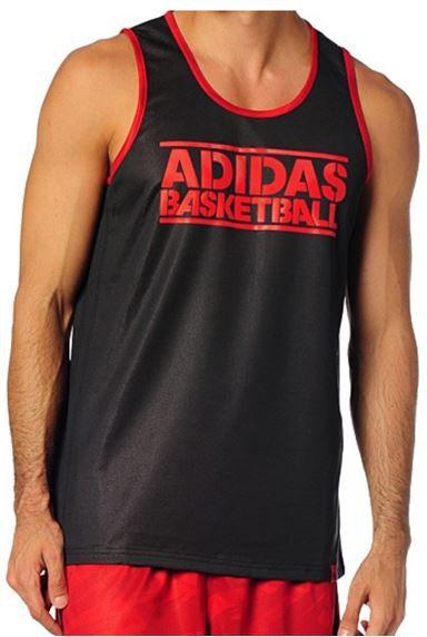 Adidas Basketball adidas GFX Reversible   Herren Basketball Shirt für 9,49€ (statt 26€)