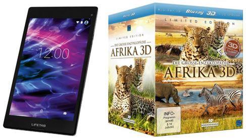 Afrika 3D Highlights aus den ersten 414 Amazon Blitzangeboten vom Mittwoch