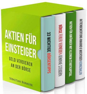 Aktien für Einsteiger   4 Bücher in einem Sammelband als Kindle Ebook gratis