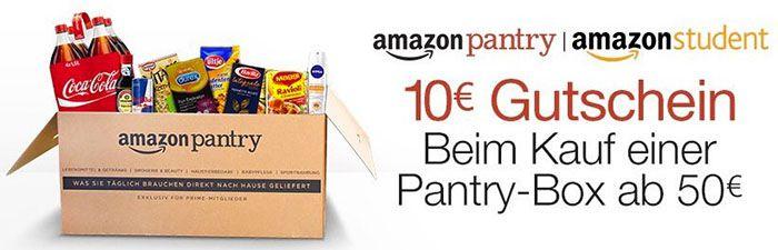 Amazon Pantry Rabatte in der Übersicht   TIPP!