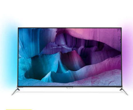 Philips 43PUK7100   43 Zoll 3D UHD Android Ambilight TV für 549,90€