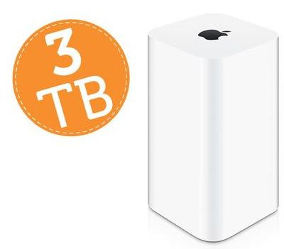 Apple AirPort Time Capsule 3TB für 329,99€