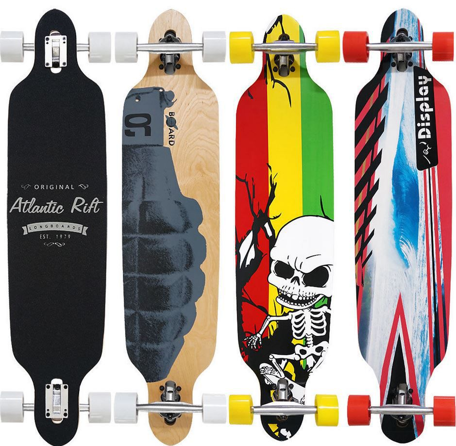 Atlantic Rift ORIGINAL Atlantic Rift Longboards mit Abec 9 Rollen für nur 32,95€