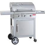 Barbecook Kaduva Inox Gasgrill + 50€ Kreutzers Gutschein für 199€ (statt 284€)