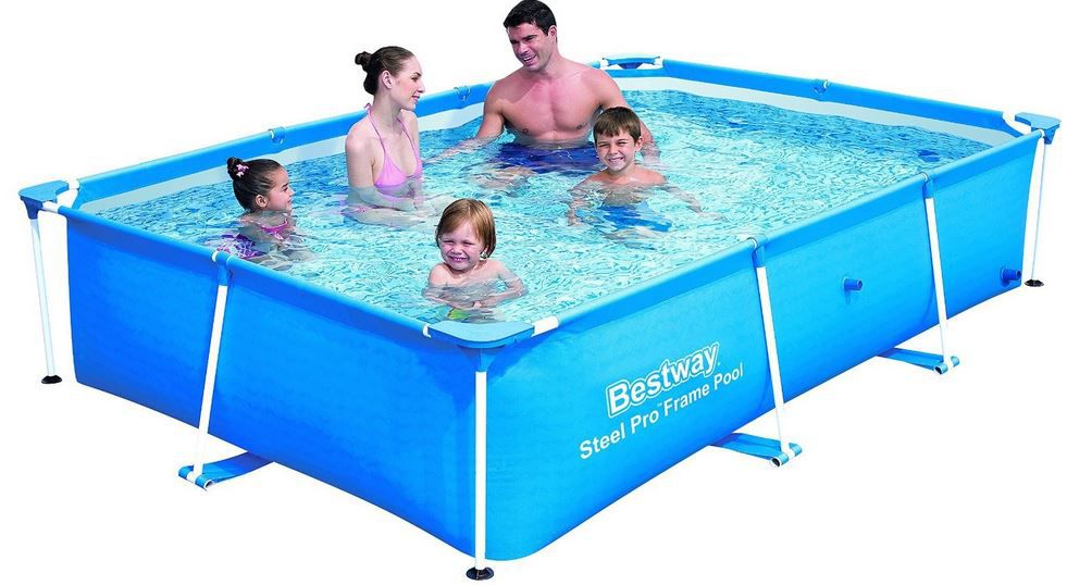 Bestway Junior Deluxe Splash Steel Pro Frame Pool statt 80€ für 64,63€