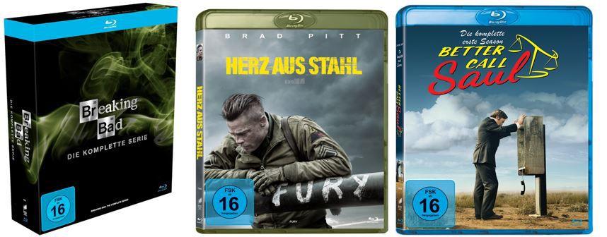 Film  & Serien Higlights bis  37% nur heute bei Amazon   z.B. Breaking Bad für 50€ (statt 60€)