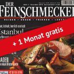 """4 Monate """"Der Feinschmecker"""" für 9€ (statt 41,40€)"""