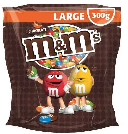 M&M's Choco oder Peanuts 5x Beutel (5x 300g   1,5kg) für 9,95€