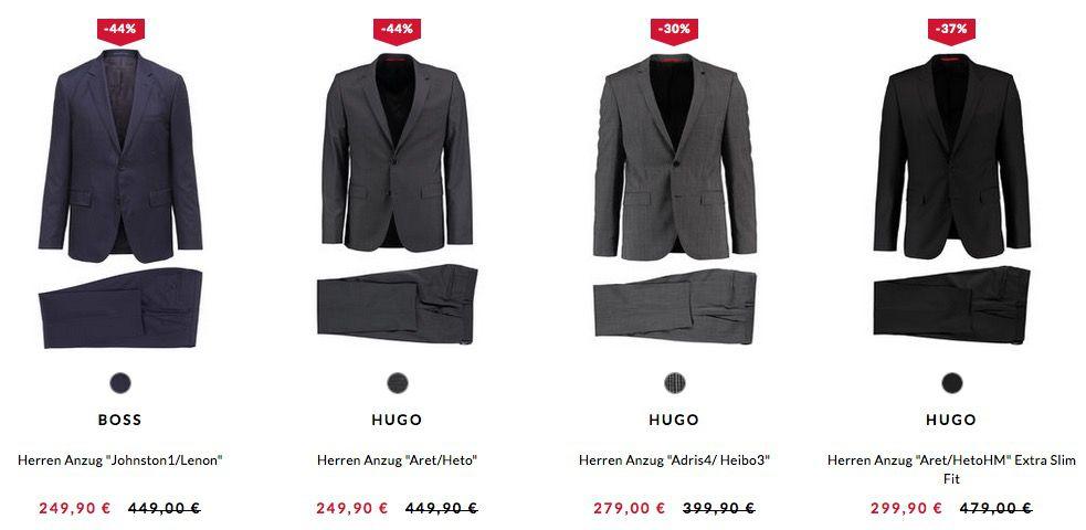 Hugo Boss Anzüge bis zu  69%