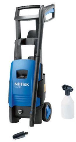 Nilfisk C 120.3 6 Hochdruckreiniger + Tornado PR Düse & Schaumsprüher für 69,99€ (statt 90€)