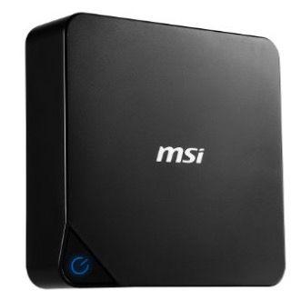 Ausverkauft! MSI Cubi Desktop PC ohne OS für 50,63€ (statt 339€)