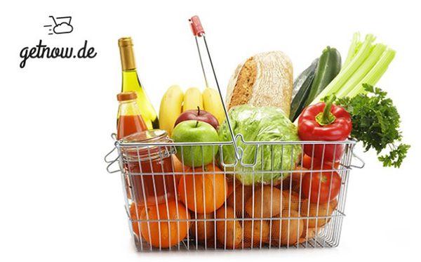 22€ getnow Gutschein ab 40€   günstige Lebensmittel, Getränke, Alkohol & Co.