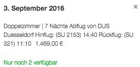 8 oder 11 Tage Malediven im Beach Bungalow + Halbpension + Flüge + Transfers ab 1.459€ p.P.