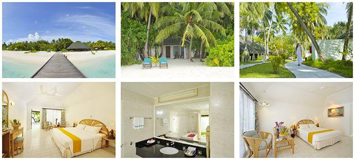 8 oder 11 Tage Malediven im Beach Bungalow + Halbpension + Flüge + Transfers ab 1.459€ p.P.