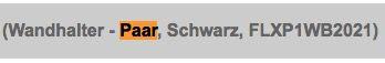 2er Set Flexson Wandhalter für Sonos Play:1 für 31,99€ (statt 54€)