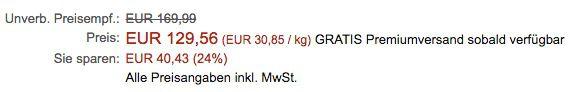 Kenwood Multi One KHH326SI Küchenmaschine für 129,56€ (statt 279€)