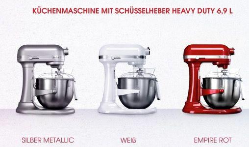 Kitchenaid 5KSM7580X Heavy Duty Küchenmaschine für 575€ (statt 652€)