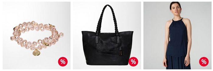 Hallhuber Sale mit bis zu 50% + 15% Extra + VSK frei ab 20€   z.B. Damen Crossbody Bag für 30€ (statt 50€)