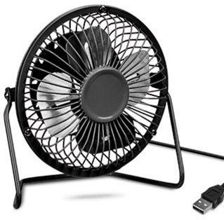 Power XXL Tisch Ventilator mit Metallgehäuse für 5,97€ (statt 9€)