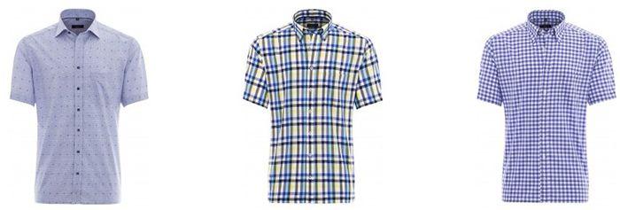 Eterna Sale mit 2 Kurzarm Hemden für 55€ oder 2 Kurzarm Blusen für 75€