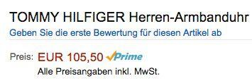Tommy Hilfiger Herren Armbanduhr für 105,50€(statt 135€)