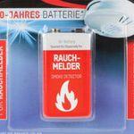 5er Pack ANSMANN 10-Jahres Longlife Lithium Batterie 9V E-Block für 28,95€ (statt 36€)