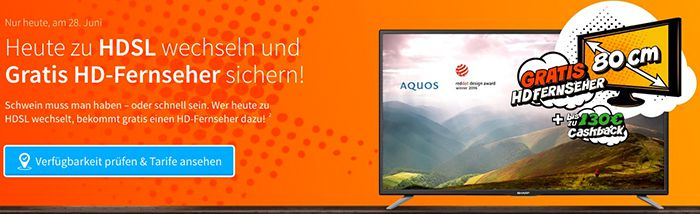 Bildschirmfoto 2016 06 28 um 15.33.29 Vodafone Komfort HD Kabel 100 (Inet, HDTV, Telefon) für eff. 22€ mtl. + gratis 32 Zoll Fernseher (Wert: 200€)