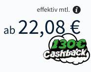 Vodafone Komfort HD Kabel 100 (Inet, HDTV, Telefon) für eff. 22€ mtl. + gratis 32 Zoll Fernseher (Wert: 200€)