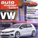auto motor und sport – Jahresabo für 107,90€ + 90€ Verrechnungsscheck