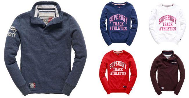 Superdry Herren Sweatshirts für je 24,95€(statt 42€)