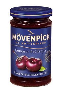 8er Pack Mövenpick Gourmet Frühstück Baseler Schwarzkirsche (8 x 250g) ab 7,17€ (statt 18€)