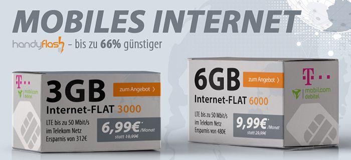 Bildschirmfoto 2016 08 02 um 10.24.48 Telekom 6GB LTE Flat für 9,99€ mtl. oder 3GB für 6,99€mtl.