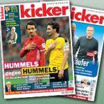 Kicker Jahresabo (104 Ausgaben) für 112€ (statt 222€)