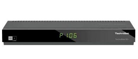 Technisat TechniStar S2+ digitaler HDTV Satellitenreceiver + 6 Monate HD+ für 102,98€ (statt 160€)